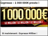 L'expresso à 1 million d'euros de Winamax n'est pas un café, c'est un SNG jackpot