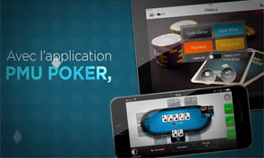 L'application poker pour Android sur le site PMU.fr