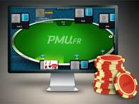 L'appli poker de PMU.fr est basée sur une skin du réseau PartyGaming