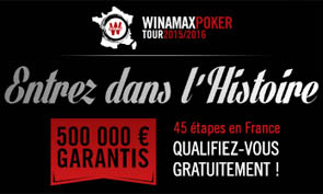 Le Winamax Poker Tour est devenu le circuit live le plus couru de France